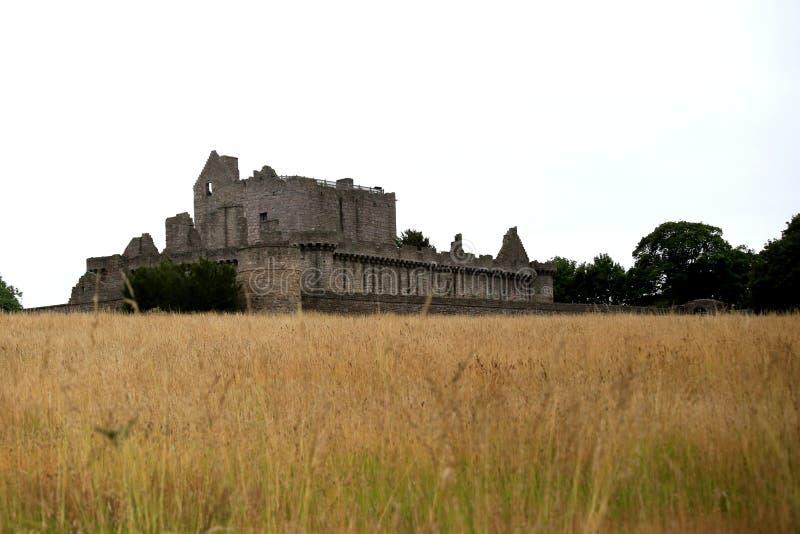 Craigmillar-Schloss lizenzfreie stockbilder