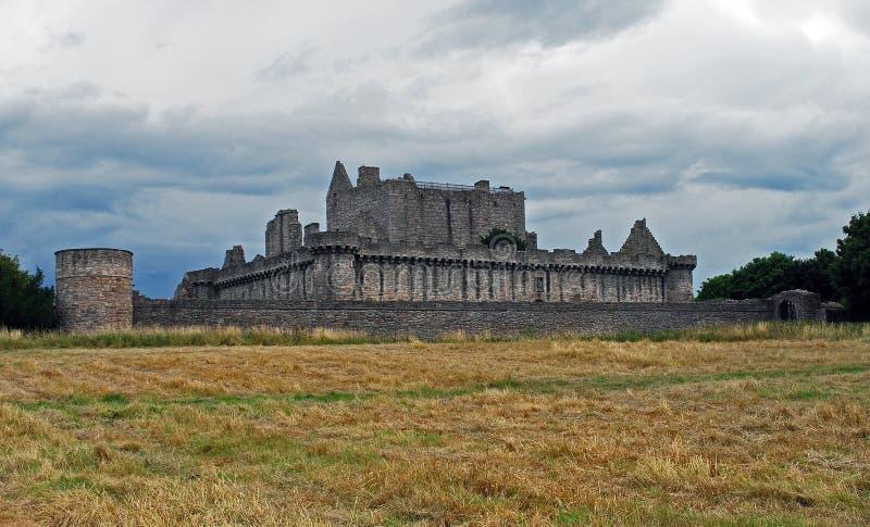 Craigmillar-Schloss stockbilder