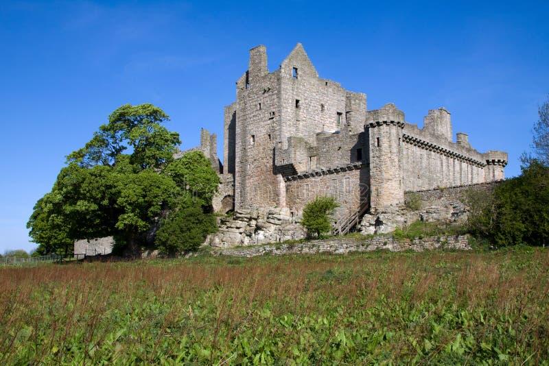 Craigmillar Schloss, Edinburgh, Schottland stockbild