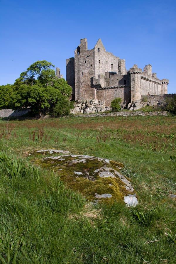 Craigmillar Schloss, Edinburgh, Schottland lizenzfreies stockbild
