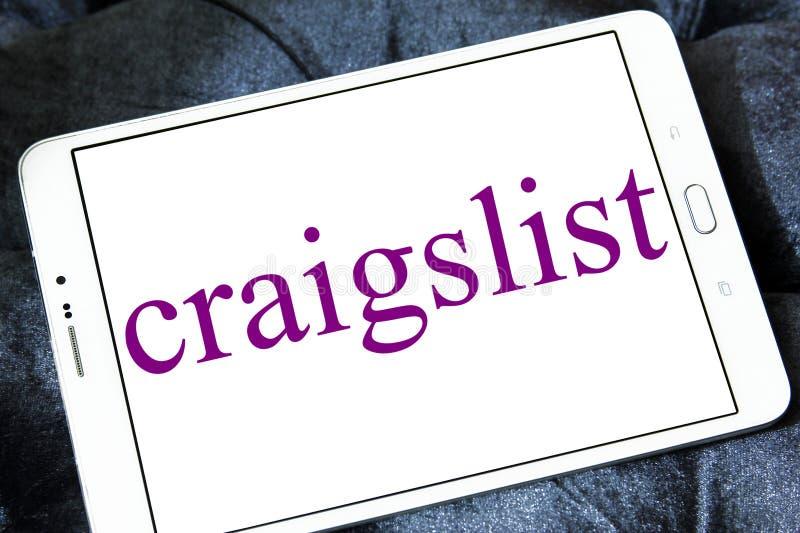 Craigslist分类了广告网站商标 免版税库存照片