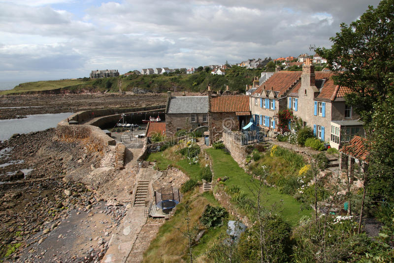 Crail. Is a former royal burgh in the East Neuk of Fife, Scotland stock images
