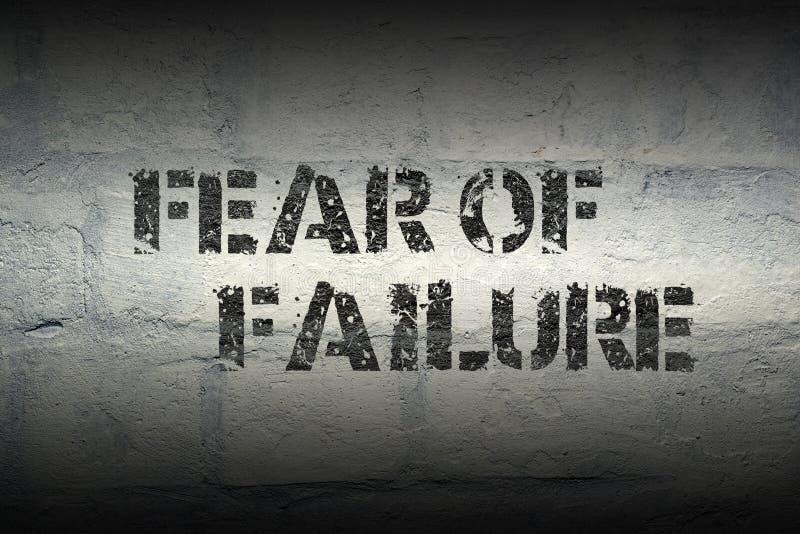 Crainte de l'échec GR illustration stock