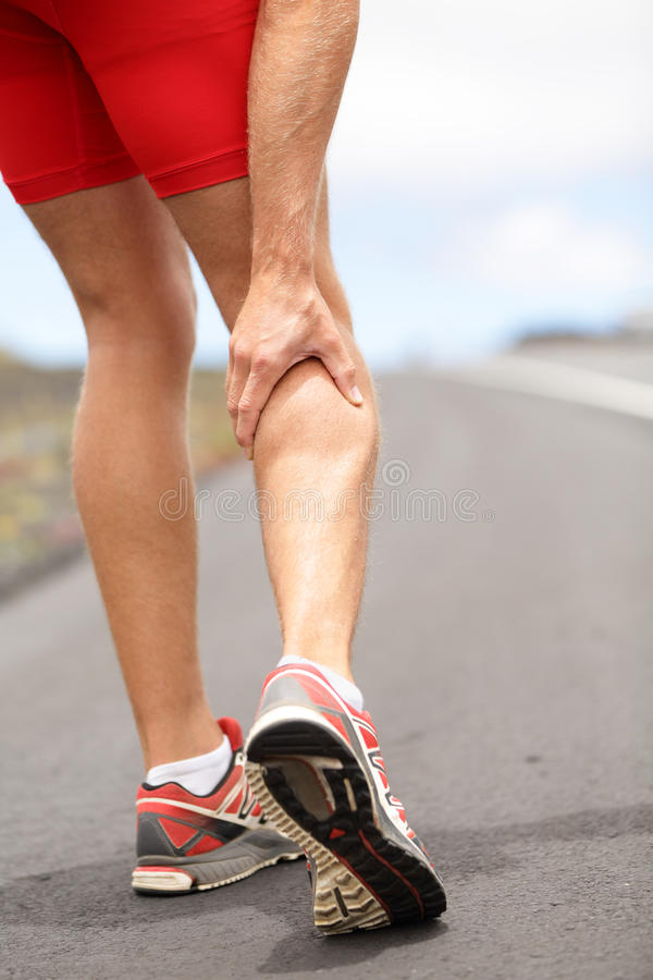 Download Cramps in leg calves stock photo. Image of ache, cramp - 26261088