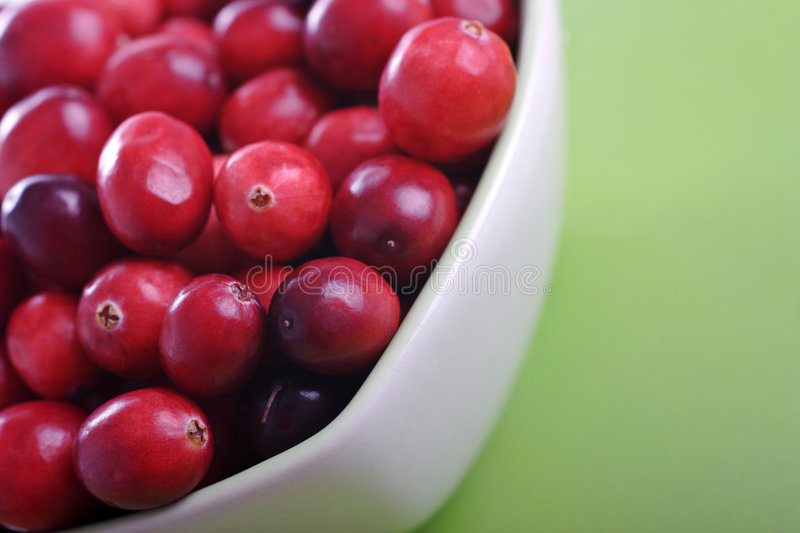 Cranberries. Delicious cranberries ready for christmas royalty free stock photography