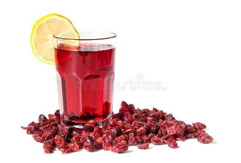 cranberries cranberry wysuszony sok obrazy stock