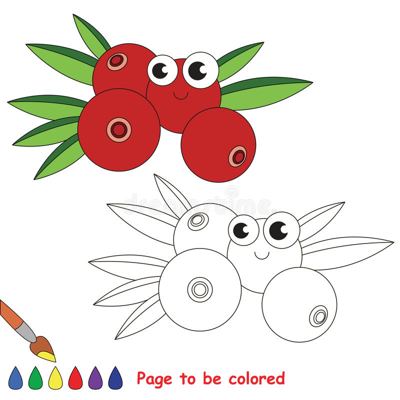 cranberry coloring pages kids - photo#31