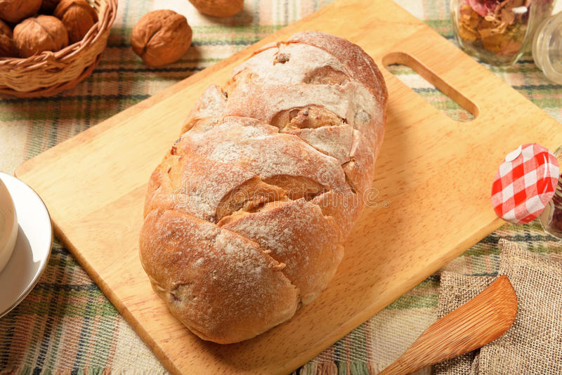 Download Cranberry hearth chleb zdjęcie stock. Obraz złożonej z deliciouses - 57663084