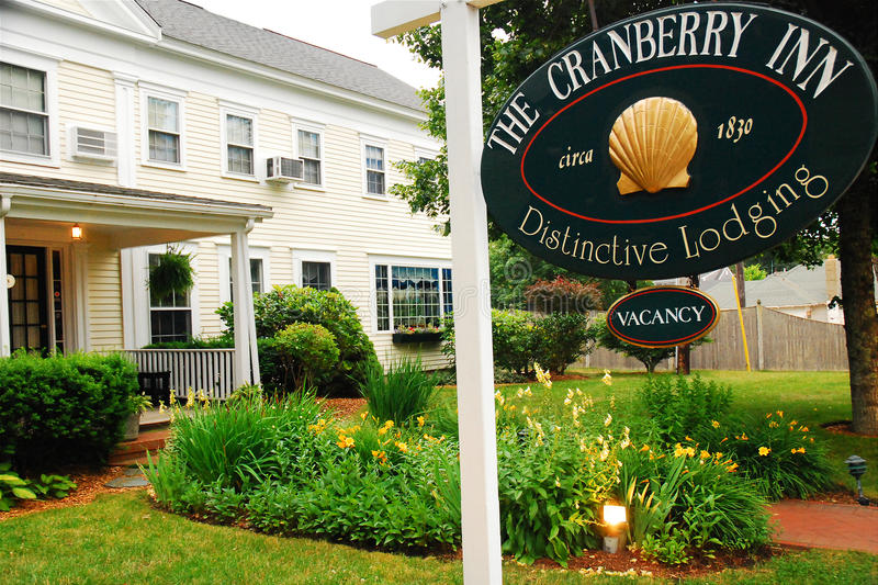 Cranberry Inn, Chatham, Massachusetts. The Cranberry Inn is a becd and breakfast in Chatham, in the heart of Cape Cod Massachusetts royalty free stock image