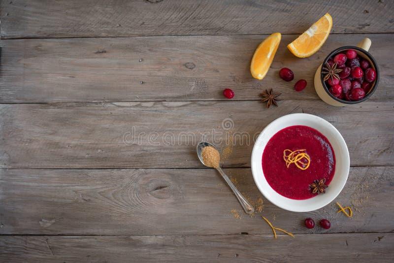 Cranberry Orange Relish royalty free stock photo