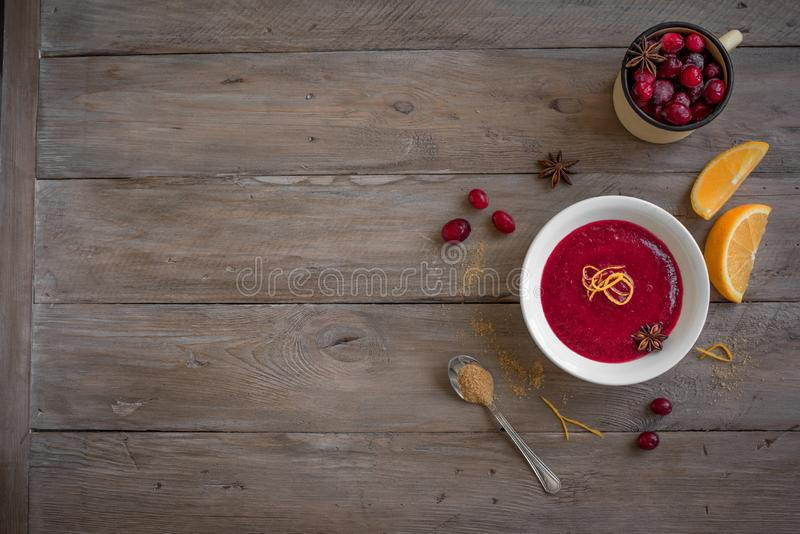 Cranberry Orange Relish stock photography