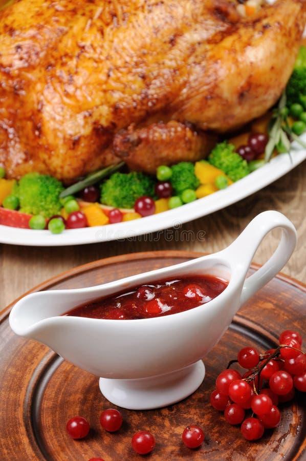 Cranberry Sauce stock photos