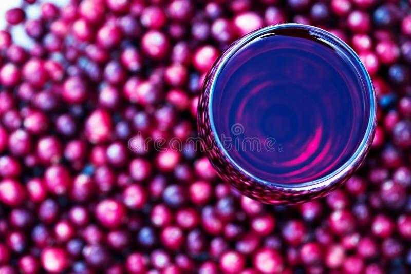 cranberry sok zdjęcie stock
