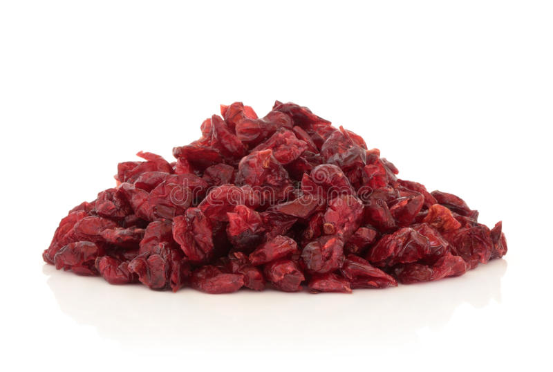cranberry suszący - owoc zdjęcia royalty free