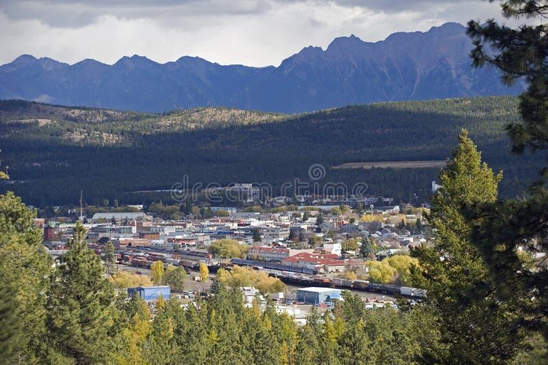 Cranbrook, Columbia Británica, Canadá imágenes de archivo libres de regalías