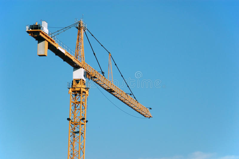 Download Crane stock image. Image of building, crane, weight, hoist - 10381071