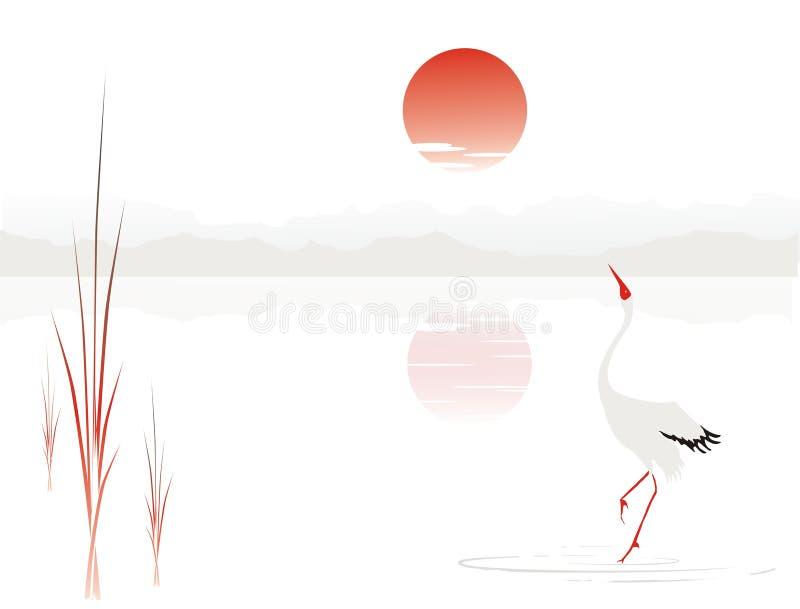 The crane vector illustration