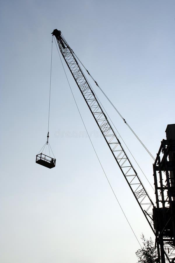 Download Crane obraz stock. Obraz złożonej z sylwetka, machine, żuraw - 143005