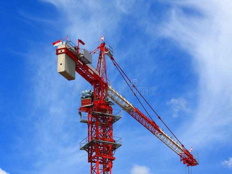 Download Crane stock image. Image of manufacture, business, reinforcing - 15381997