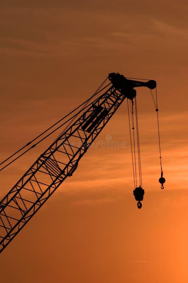 Crane 2 royalty free stock image