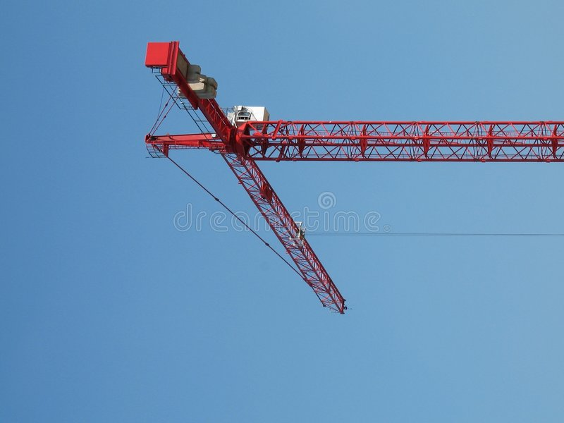 Crane 2 stock photography