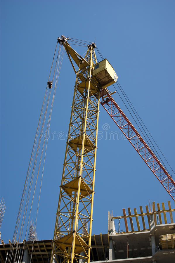 Download Crane stock photo. Image of structure, high, crane, rise - 25393266