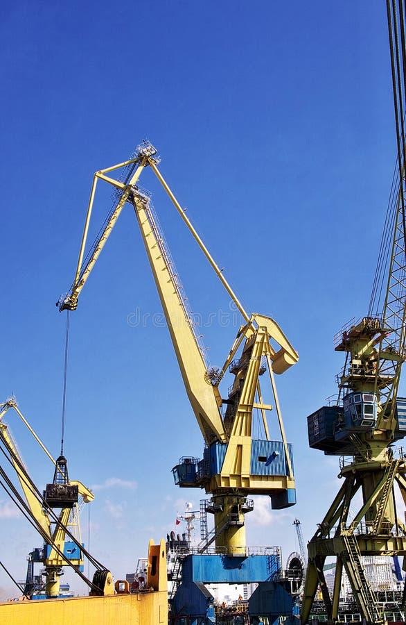 Download Crane stock image. Image of loading, industry, dock, unloading - 28713191