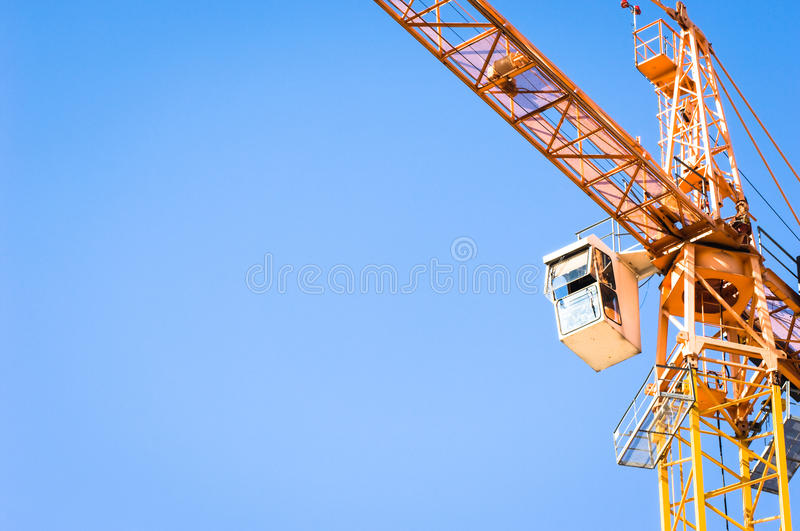 Download Crane stock image. Image of construction, clear, tower - 28870477