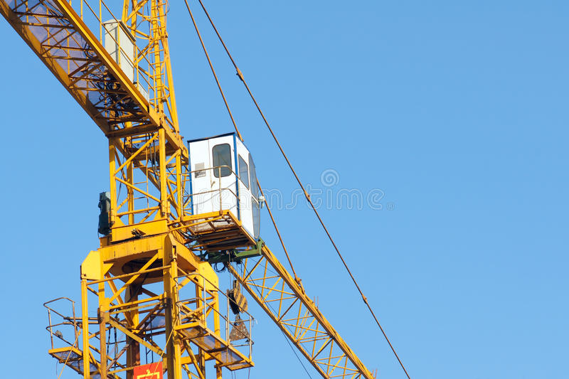Download Crane stock photo. Image of yellow, construction, tall - 28965406