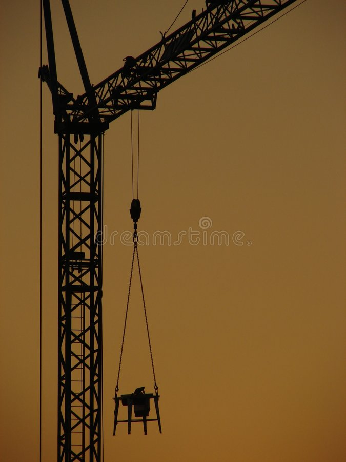Download Crane stock image. Image of crane, works, worker, work - 457791