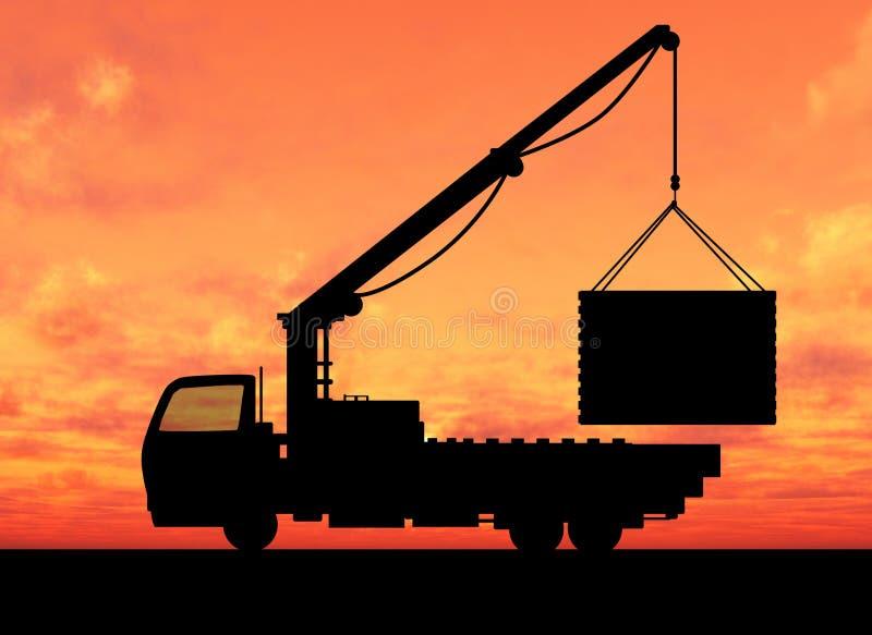 Crane vector illustration