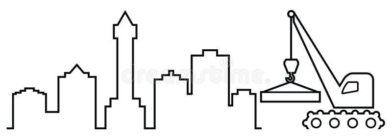 crane royalty ilustracja
