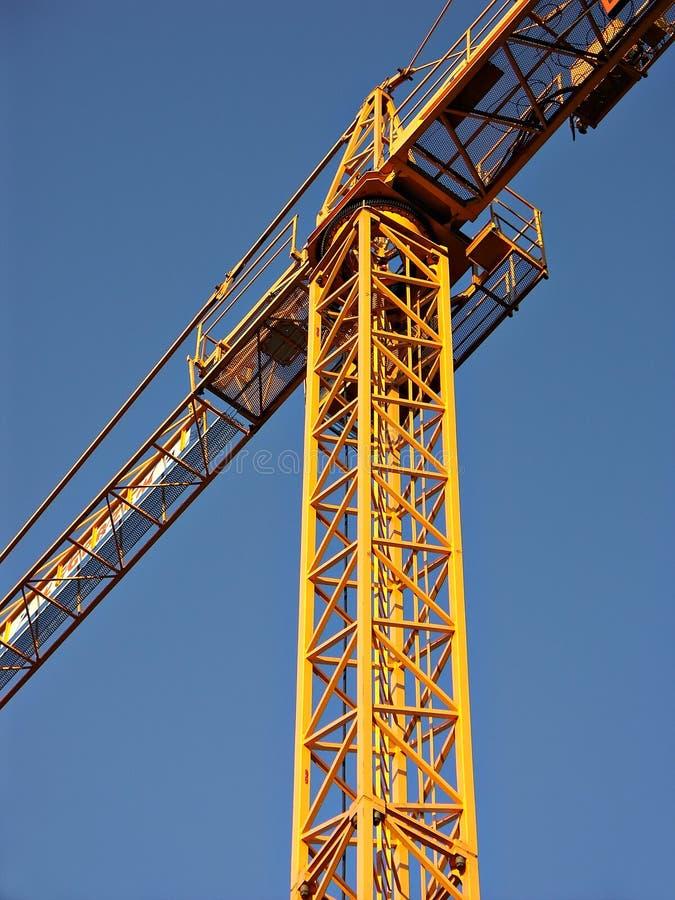 Crane. Jib crane royalty free stock photography