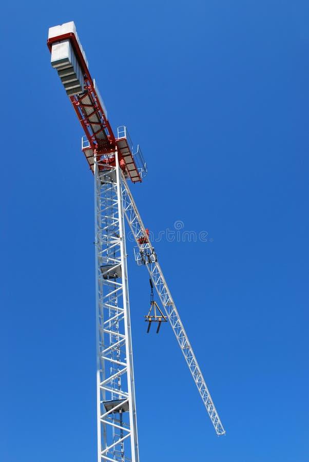 Crane On Blue Sky Royalty Free Stock Photo
