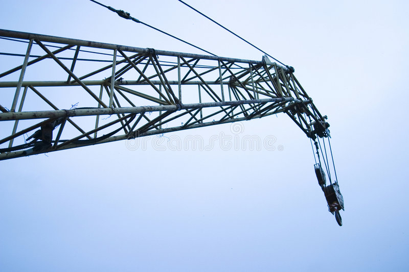 Download Crane boom and sky stock image. Image of crane, lifter - 3842367