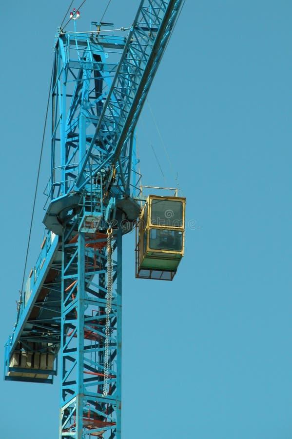Crane Budynku. Zdjęcie Stock