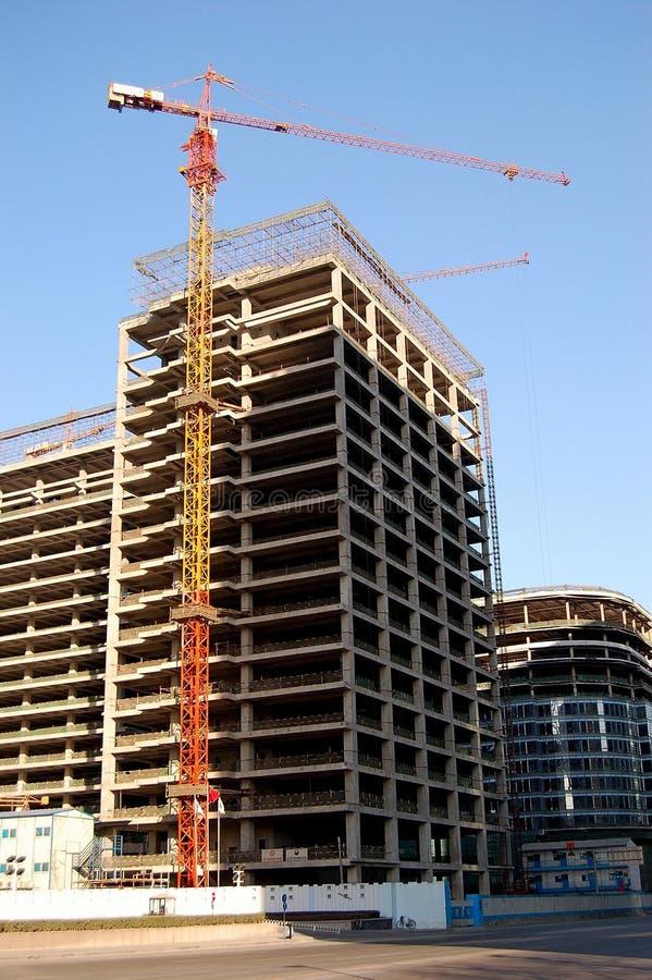 crane budynku. obraz royalty free