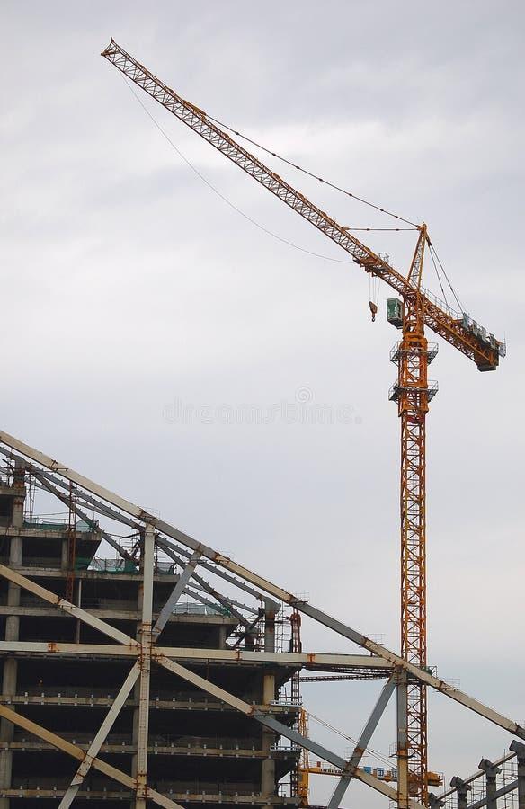 crane budynku. obraz stock