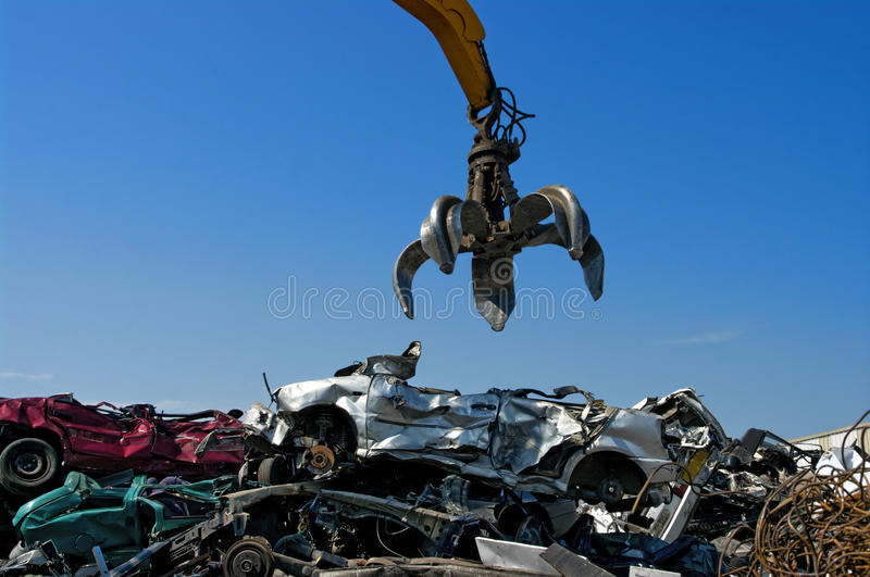 Crane cars royalty free stock image