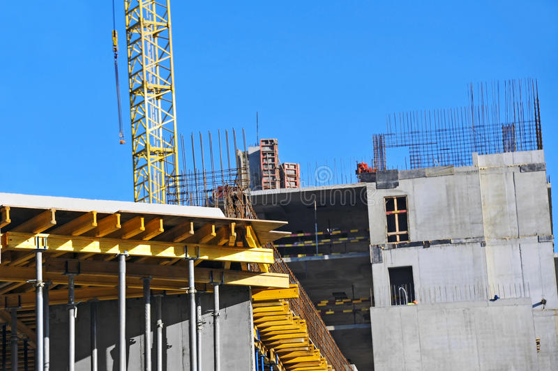 Download Crane And Construction Site Stock Image - Image: 34998259