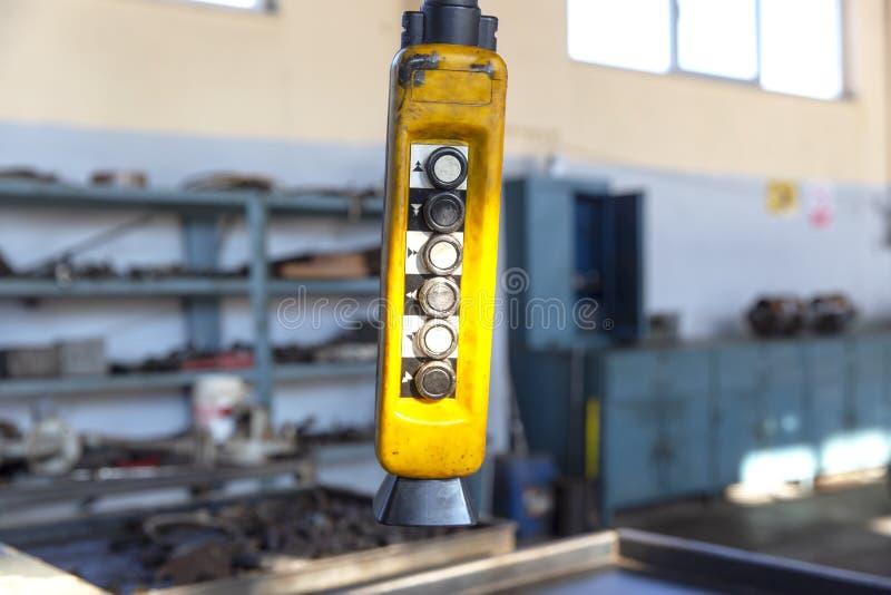 Crane Control Remote lizenzfreie stockfotografie
