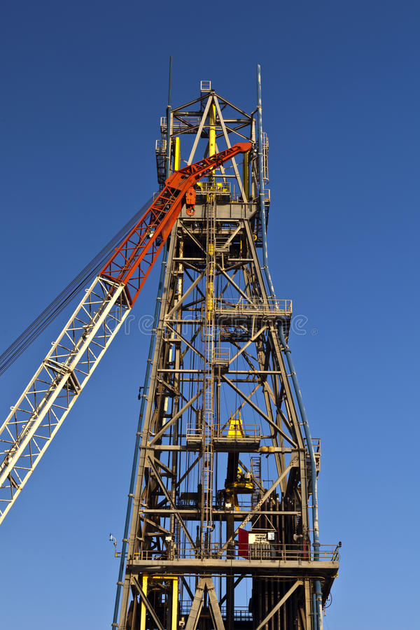 Download Crane and Derrick stock photo. Image of platform, loading - 26614852
