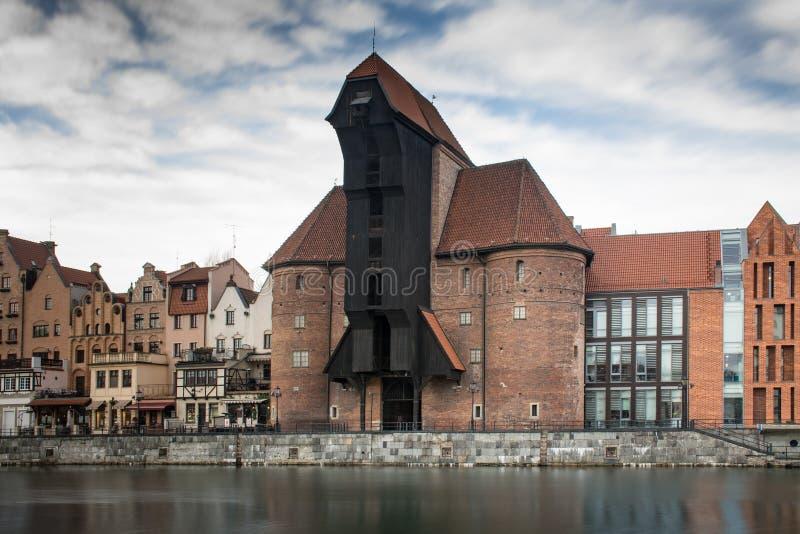 Crane Gdansk photo libre de droits