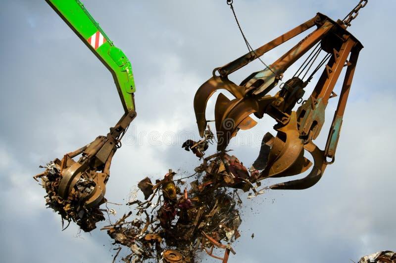 Crane grabber royalty free stock images