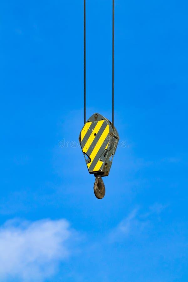 Crane Hook stockbild