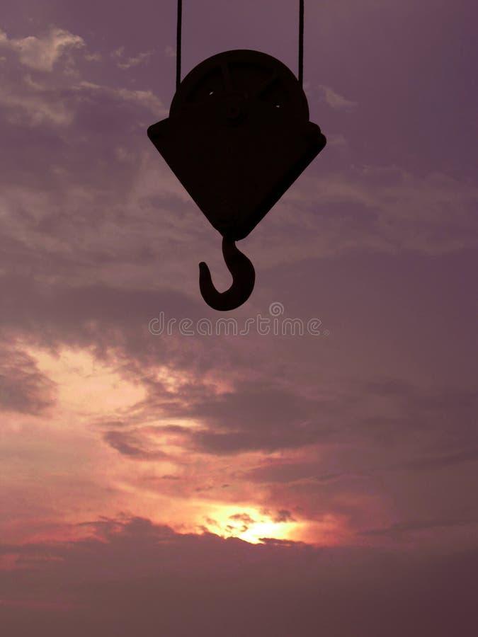 Free Crane Hook Stock Image - 16123231