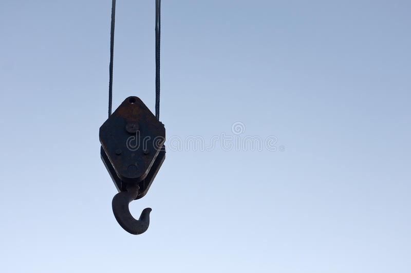 Download Crane Hook Royalty Free Stock Photography - Image: 21630487