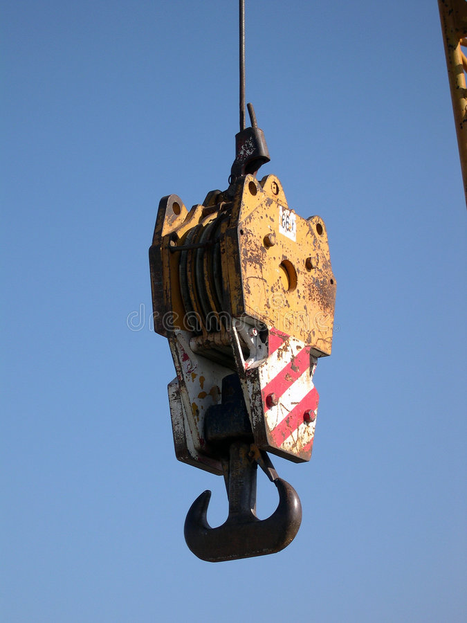Download Crane Hook Stock Image - Image: 2323911