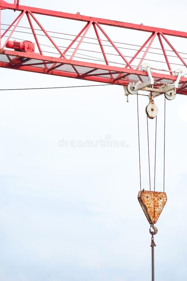Crane Hook arkivbild