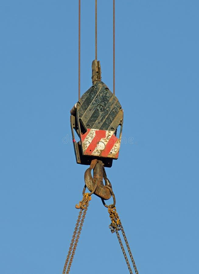 Download Crane hook stock photo. Image of picking, closeup, crane - 35333688